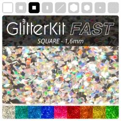 SQUARE 1,6 Holo GlitterKit...