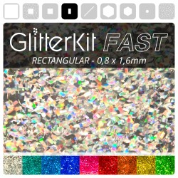 RECHTECK Holo GlitterKit Fast