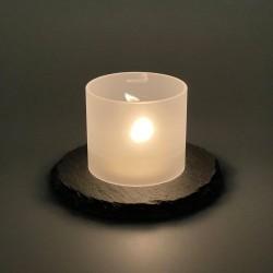 Teelicht-Lampe Glasrohr...