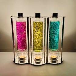 CandleGlow O3 Glitter Tea...