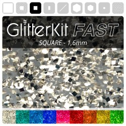 SQUARE 1,6 GlitterKit Fast