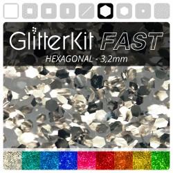 HEXAGONAL 3,2 GlitterKit Fast