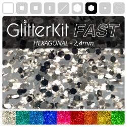 HEXAGONAL 2,4 GlitterKit Fast